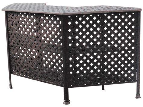 darlee cast aluminum outdoor patio round square bar stool darlee outdoor living series 30 cast aluminum antique