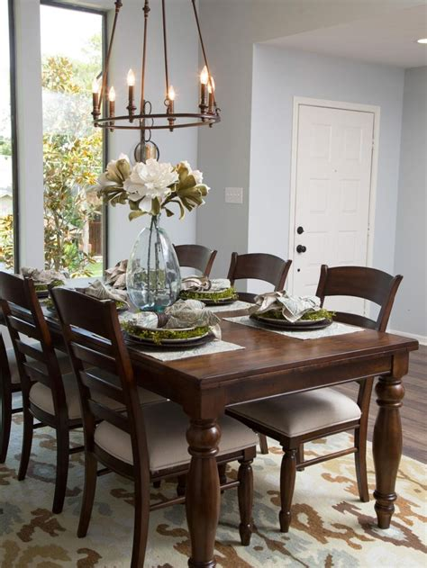 kitchen table decor 89 joanna gaines dining room ideas a former fixer upper