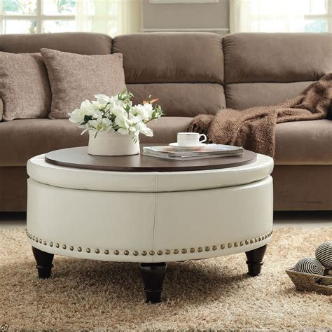 how to decorate an ottoman decorate a leather ottoman coffee table cape atlantic decor