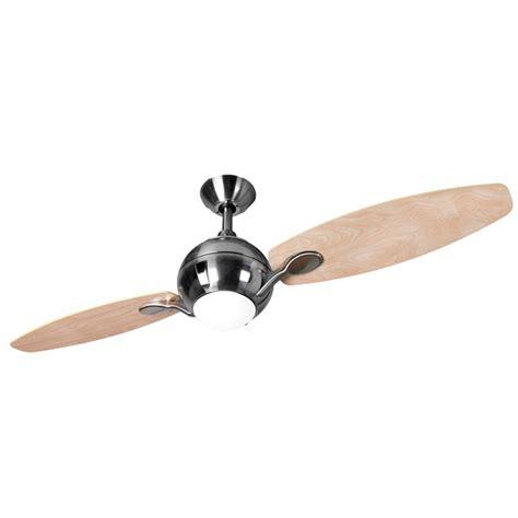 propellor ceiling fan fantasia propeller 44 inch remote brushed nickel 2