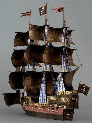 Papercraft Pirate Ship - 17 best ideas about pirate ship craft on