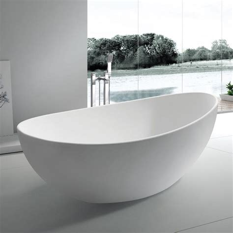 modern freestanding bathtubs oval freestanding bath tub 63 quot x 32 quot adm bathroom design