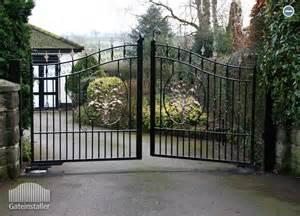 swinging gate swing gates wrought iron gates gate installer eire
