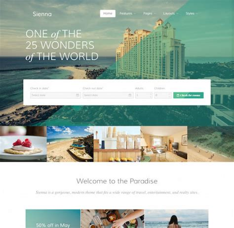 joomla template hotel free download rockettheme sienna download hotel joomla template