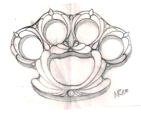 brass knuckles tattoo design knuckle by mahakalicreation on deviantart