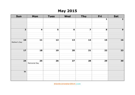 printable monthly calendar for may 2015 may calendar printable 2017 printable calendar
