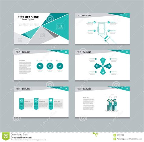 Vector Template Presentation Slides Background Design Concept Presentation Template