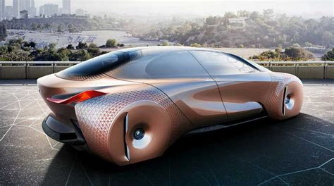 future cars bmw bmw s concept car is a shape shifting danger sensing