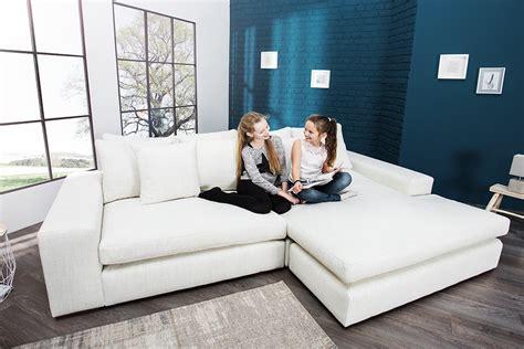 ecksofa leinen neues interieur landhausstil sofa modell waitingshare