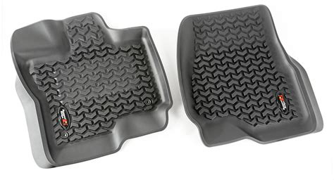 rugged floor mats rugged ridge floor mats free shipping on all weather mats