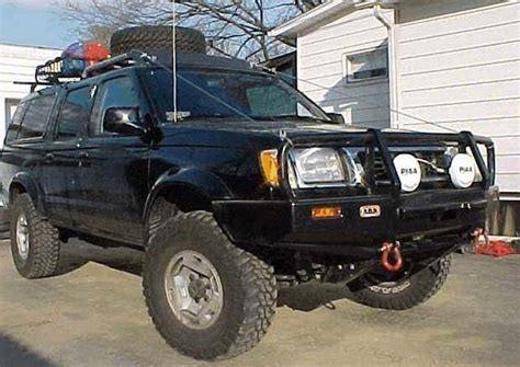 nissan frontier winch mount 4x4 parts arb frontier winch mount bull bar
