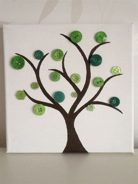 Wall Stickers For Children best 25 button tree canvas ideas on pinterest button