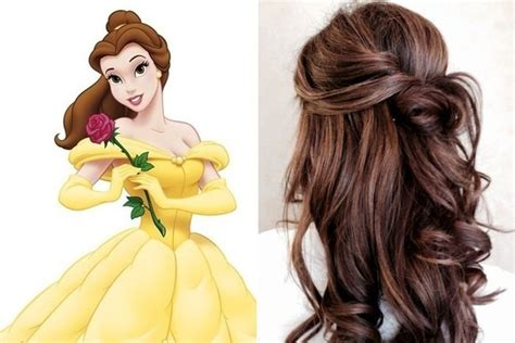 belle hairstyle belle beauty and the beast beast belle and princess