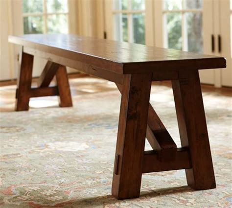 Pottery Barn Toscana Dining Table Toscana Fixed Dining Table Bench 3 Dining Set Pottery Barn