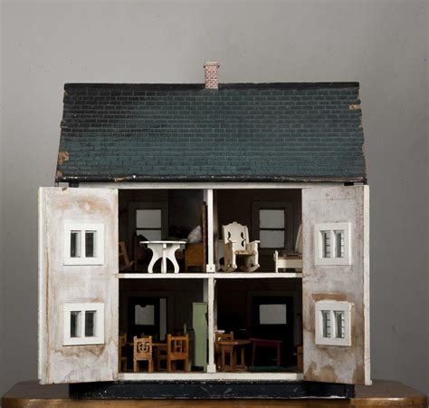 white doll house white colonial doll house with porch