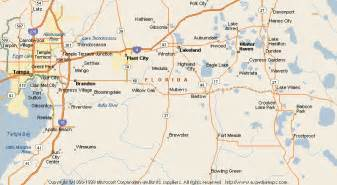 Mulberry Florida Map by Map Of Mulberry