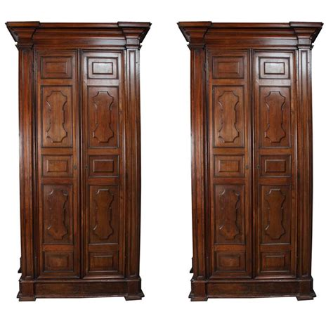pair of grand italian wardrobes for sale at 1stdibs