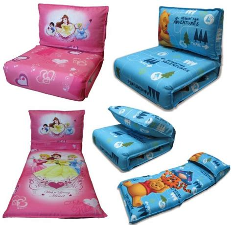 kids bed settee disney character childrens click clack chair sofa settee