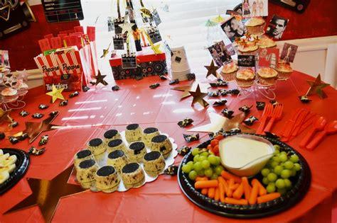 themed party food ideas hollywood themed party food classroom ideas pinterest