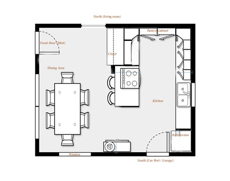 kitchen design plans ideas fhc architecture mcd kitchen floor plans