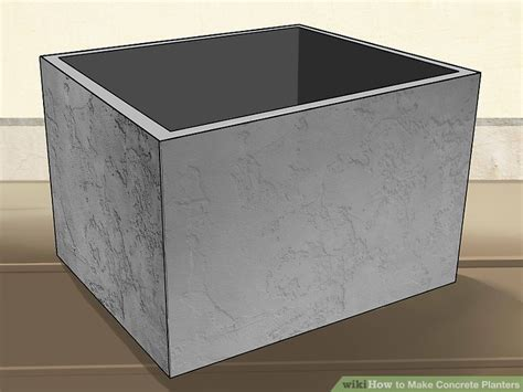 how to make concrete planters how to make concrete planters with pictures wikihow