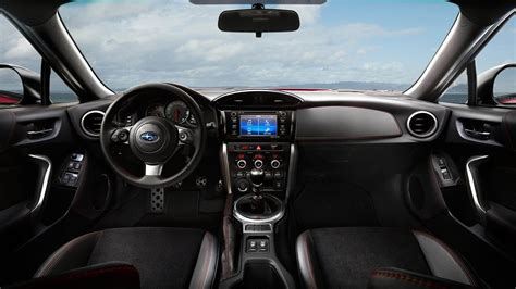 black subaru brz interior 2017 subaru brz interior review youtube