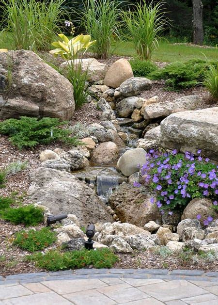 rock bed 50 super easy dry creek landscaping ideas you can make