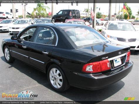 2006 Kia Optima Ex 2006 Kia Optima Ex V6 Black Gray Photo 6 Dealerrevs