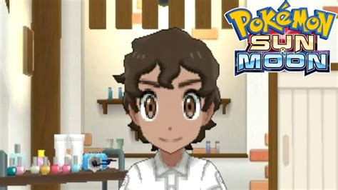 haircuts ultra sun pokemon sun and moon all hair styles for guys youtube