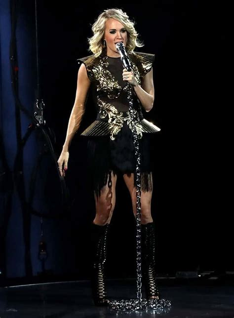 carrie underwood live carrie underwood performs concert tour in knee high boots
