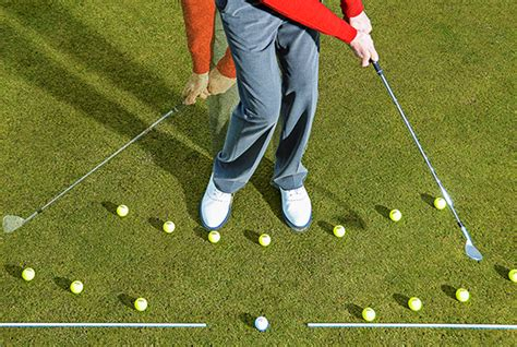 swing arc swing on an arc for crisp chips today s golfer