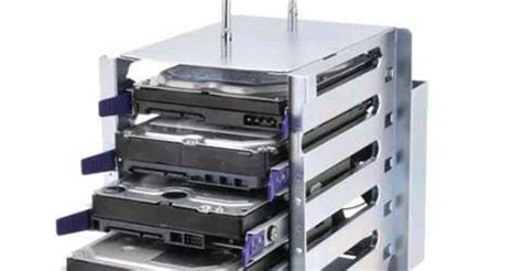 Drive Storage Rack by A Portable 5 Bay Drive Rack May Be Just What You Need