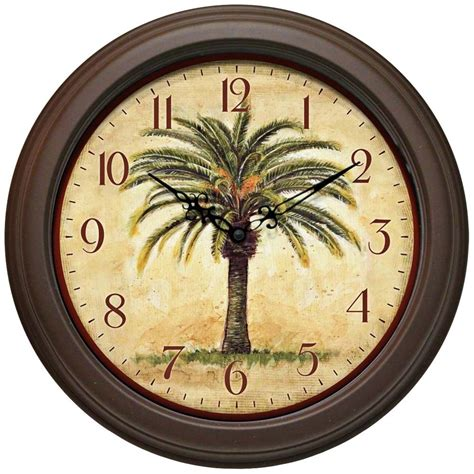decoration wall clock tropical wall clocks for easy bedroom theme decor easy