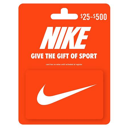 How To Use Nike Gift Card Online - nike id gift certificate the river city news