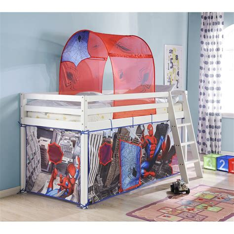 spiderman bed tent tent for midsleeper cabin bed