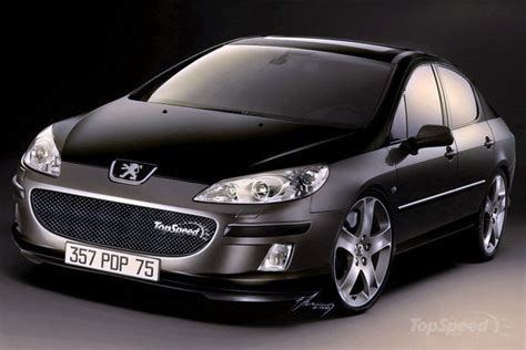 peugeot 407 coupe tuning view of peugeot 407 2 2 coupe photos video features and