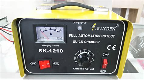 Charger Aki Rayden Trafo Otomatis Cutt 10a Sk 1210 jual charger aki rayden trafo 10a otomatis auto cut sk 1210 arstronic