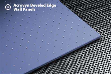 acrovyn beveled edge wall panels c s
