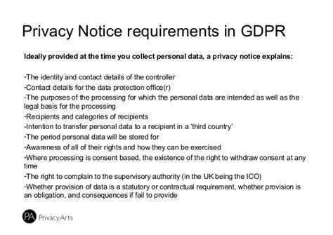 Building A Register Of Data Processing Gdpr Contract Template