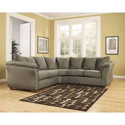 signature design by ashley sectional flash furniture fsd 1109sec sag gg signature design by