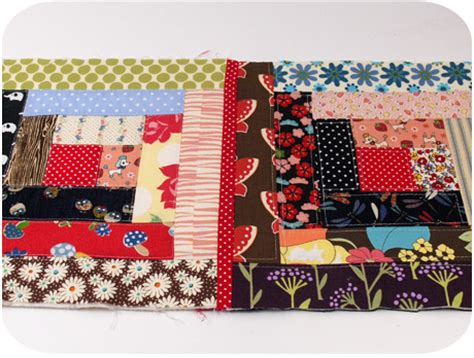 Quilt As You Go Methods by The Log Cabin Quilt As You Go Method Quilter S Thread