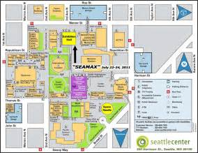 Seattle Center Map by Sea Max