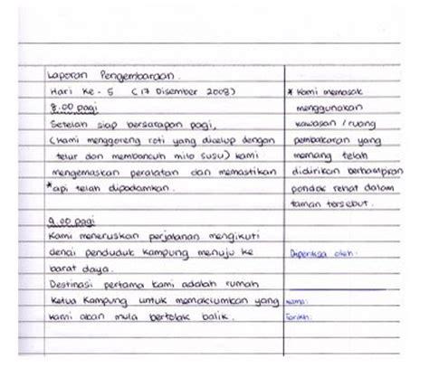 format buku log pengakap panduan penyediaan buku log pengakap format asas sebuah