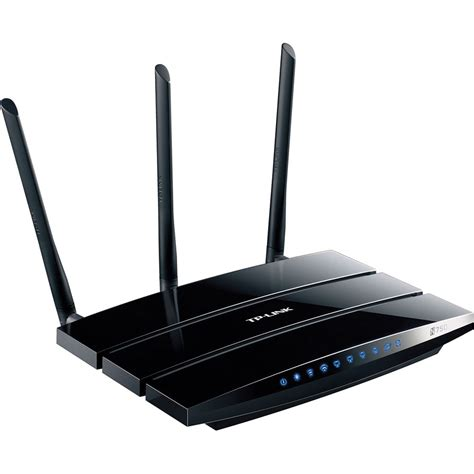Router Tp Link N750 tp link n750 wireless dual band gigabit router tl wdr4300 b h