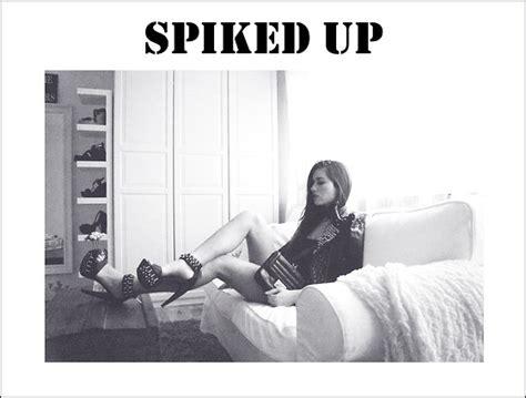 spiked up look actress ilirida krasniqi spiked up lookbook