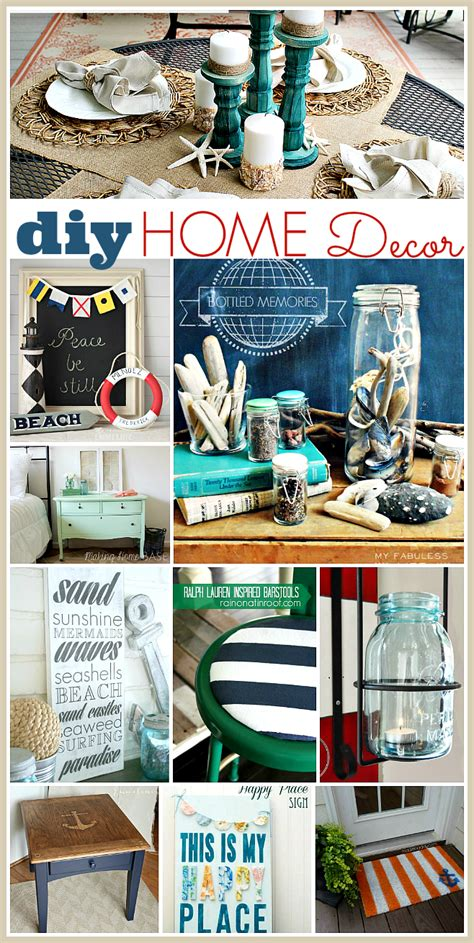 diy summer decorations for home diy home decor ideas the 36th avenue
