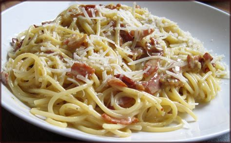 pasta carbonara recipe dishmaps