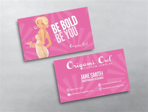 Business Cards Origami Owl