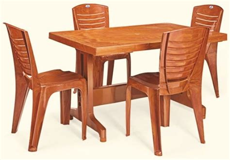 nilkamal plastic dining table set price modern furnitures
