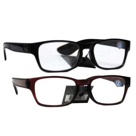 wholesale plastic reading glasses 375 power in assorted